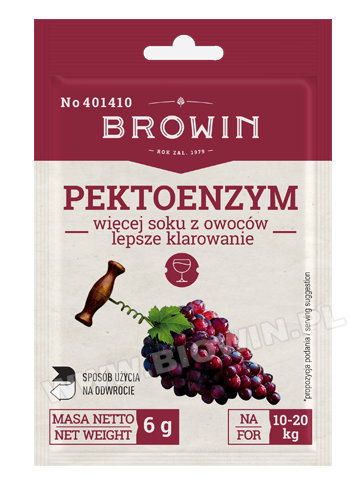 Pektoenzym suszony, 6g