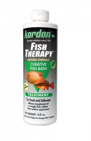 KORDON Fish Therapy 473ml leczy bakterie grzyby