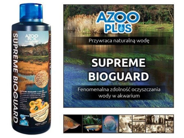 Azoo Supreme Bioguard 120Ml Ekosystem Hit!!!