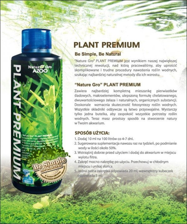 Azoo Nature-Gro Plant Premium 500Ml Super Nawóz