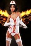 Lolitta Sexy Nurse Erotický Kostým