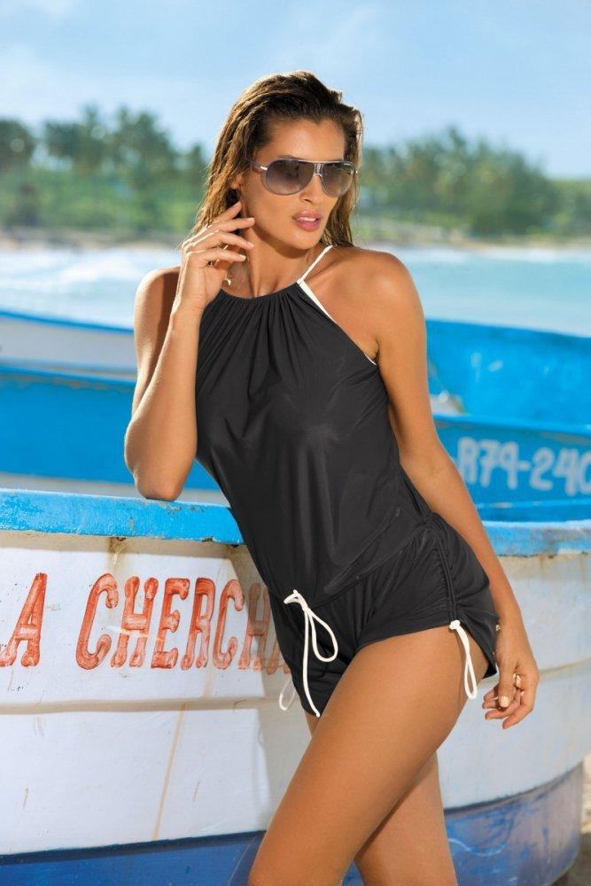 6773995292a Plážová tunika Marko Leila M-312 Squalo - Plážové šaty - Plavky