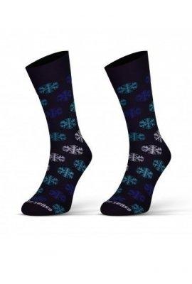 Sesto Senso Finest Cotton Sněhové vločky Ponožky