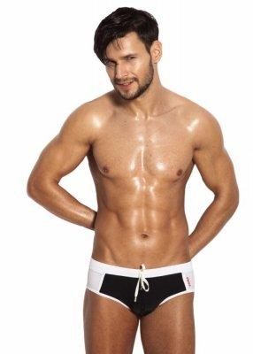 Alpha Male Brevo Black Pánské plavky