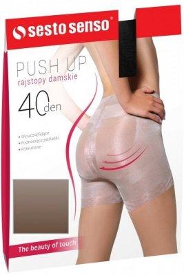 Sesto Senso Push Up 40 DEN Punčochové kalhoty