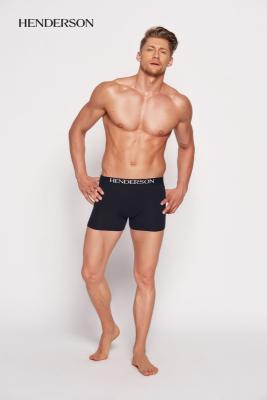 Henderson Man 35218-99x Černé Pánské boxerky