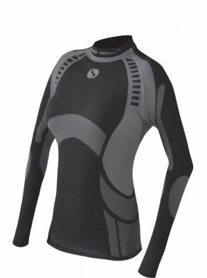Sesto Senso Thermo Active tmavě šedý Dámské sportovní triko