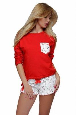Sensis Red Penguin Dámské pyžamo