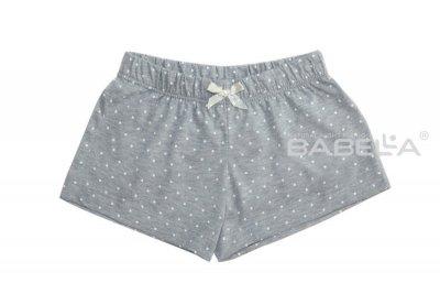 Babella Dotti 3087-1 Šedé Pyžamové šortky