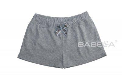 Babella Dust 3084-1 Šedé Pyžamové šortky