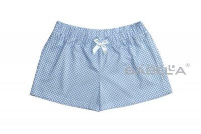 Babella Sweet 3091-2 Světle modré Pyžamové šortky