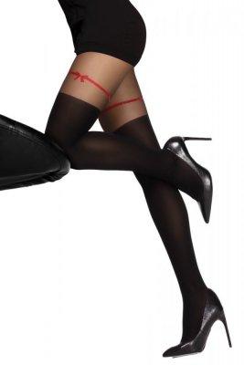 Livia Corsetti Hreiama 60 DEN Black Punčochové kalhoty