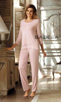 Babella Olimpia Růžové Dámské pyžamo