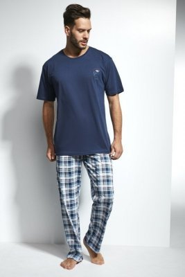 Cornette 134/110 Great 3 Tmavě modré Pánské pyžamo
