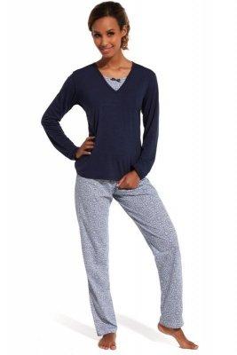 Cornette 168/138 Erin Tmavě modré Dámské pyžamo