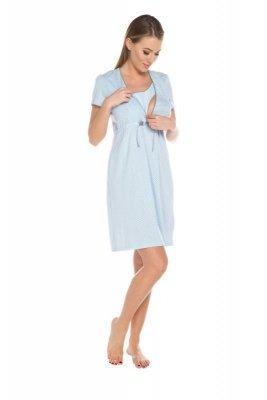 Italian Fashion Felicita modrá Noční košilka
