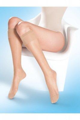 Gabriella 500 lycra 15 den neutro Podkolenky