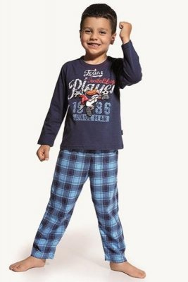 Cornette 809/11 Player jeans Chlapecké pyžamo