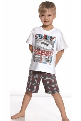Cornette 789/45 Stadium Bílé Chlapecké pyžamo