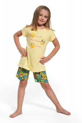Cornette 787/58 Smile Žluté Dívčí pyžamo