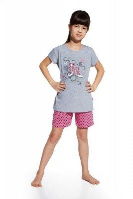 Cornette 787/51 Shoes melanž Dívčí pyžamo