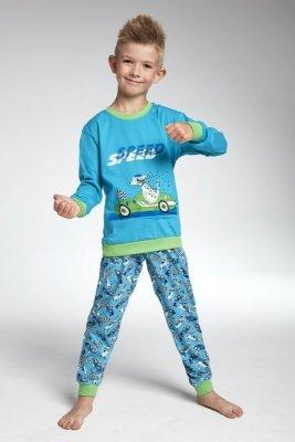 Cornette 593/75 Speed Tyrkysové Chlapecké pyžamo