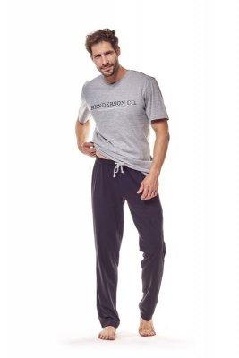 Henderson 36214 90x Šedé Pánské pyžamo