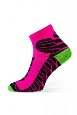 Sesto Senso Sport Socks ružové Ponožky