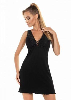 Donna Jenifer černá Noční košile