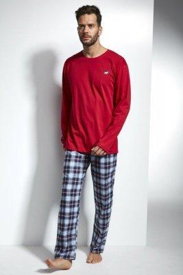 Cornette 124/116 Alaska 2 Červené Pánské pyžamo