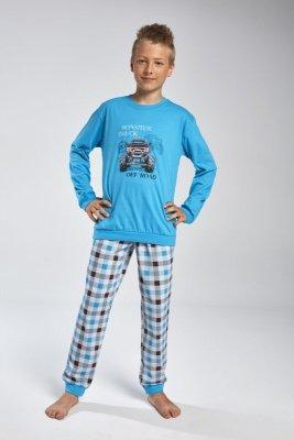 Cornette 593/82 Off road Tyrkysové Chlapecké pyžamo