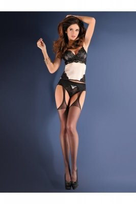 Gabriella erotica 235 strip panty classic red Punčochy