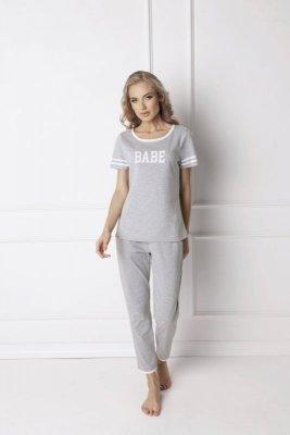 Aruelle Babe Long Grey Dámské pyžamo