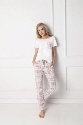 Aruelle Londie Long White Dámské pyžamo