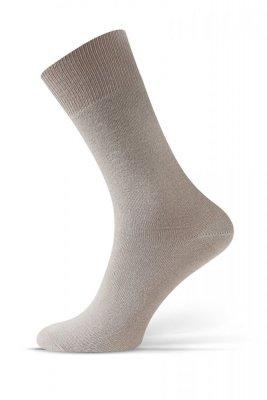 Sesto Senso Beztlakové béžové Ponožky