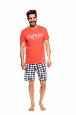 Henderson Jimmy 36827-32X Oranžové Pánské pyžamo