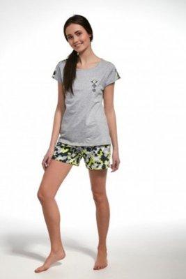 Cornette F&Y 277/31 camo melanžové Dívčí pyžamo
