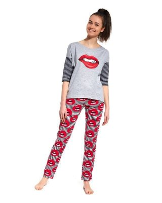 Cornette F&Y 200/27 Lips Dívčí pyžamo