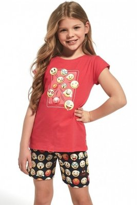 Cornette Kids Girl 787/64 Emoticon Dívčí pyžamo