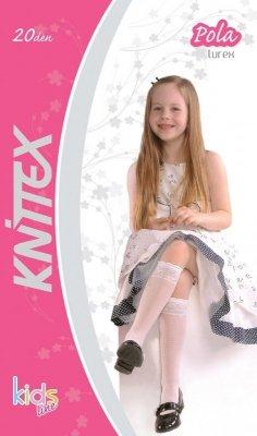 Knittex Pola Lurex 20 den Dívčí podkolenky