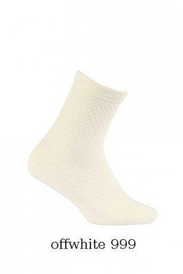 Wola W24.126 żakard 2-6 lat Dívčí ponožky