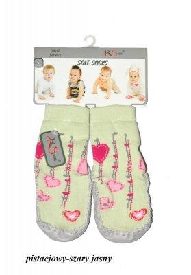 RiSocks art.5692846  dětské ponožky, Kožená podešev