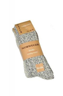 WiK Norweger Wolle art. 21100 A'2 Pánské ponožky