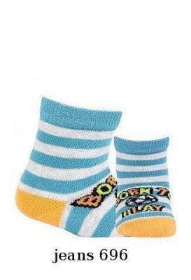 Wola Boy W14.P01 0-2 lat Chlapecké ponožky
