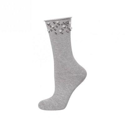 Soxo Dámské ponožky, perly