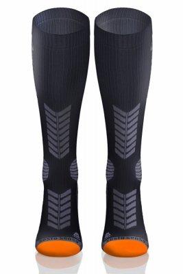 Sesto Senso Compression Socks grafitové Ponožky