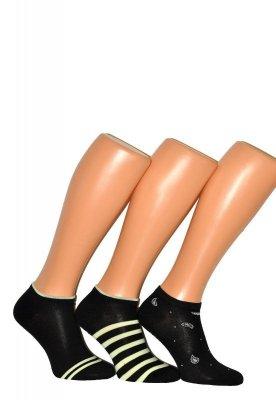 WiK Premium Sox Cotton art.36455 dámské kotníkové ponožky