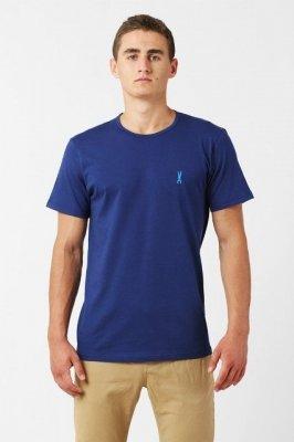 Orlovski R-neck Navy Pánské tričko