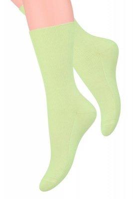 Steven 018 Beztlakové dámské ponožky
