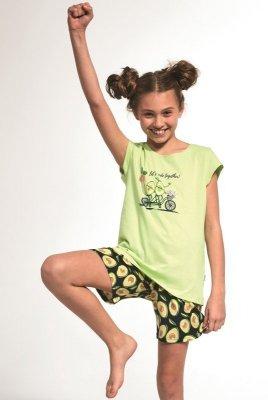Cornette Kids Girl 787/77 Avocado 86-128 dívčí pyžama